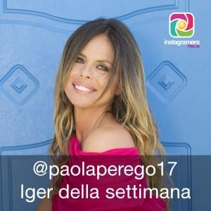 Paola Perego iger della settimana