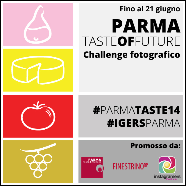#Parmataste14: i colori del buon cibo a tavola