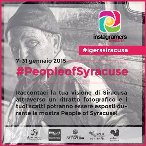 People of Syracuse: il challenge che ritrae i volti iblei