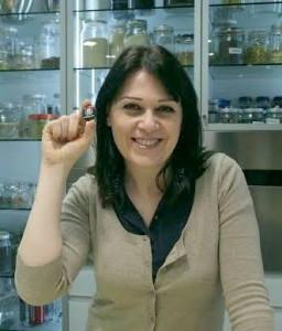 Sonia Peronaci (Giallo Zafferano) con la spilletta @igersmilano
