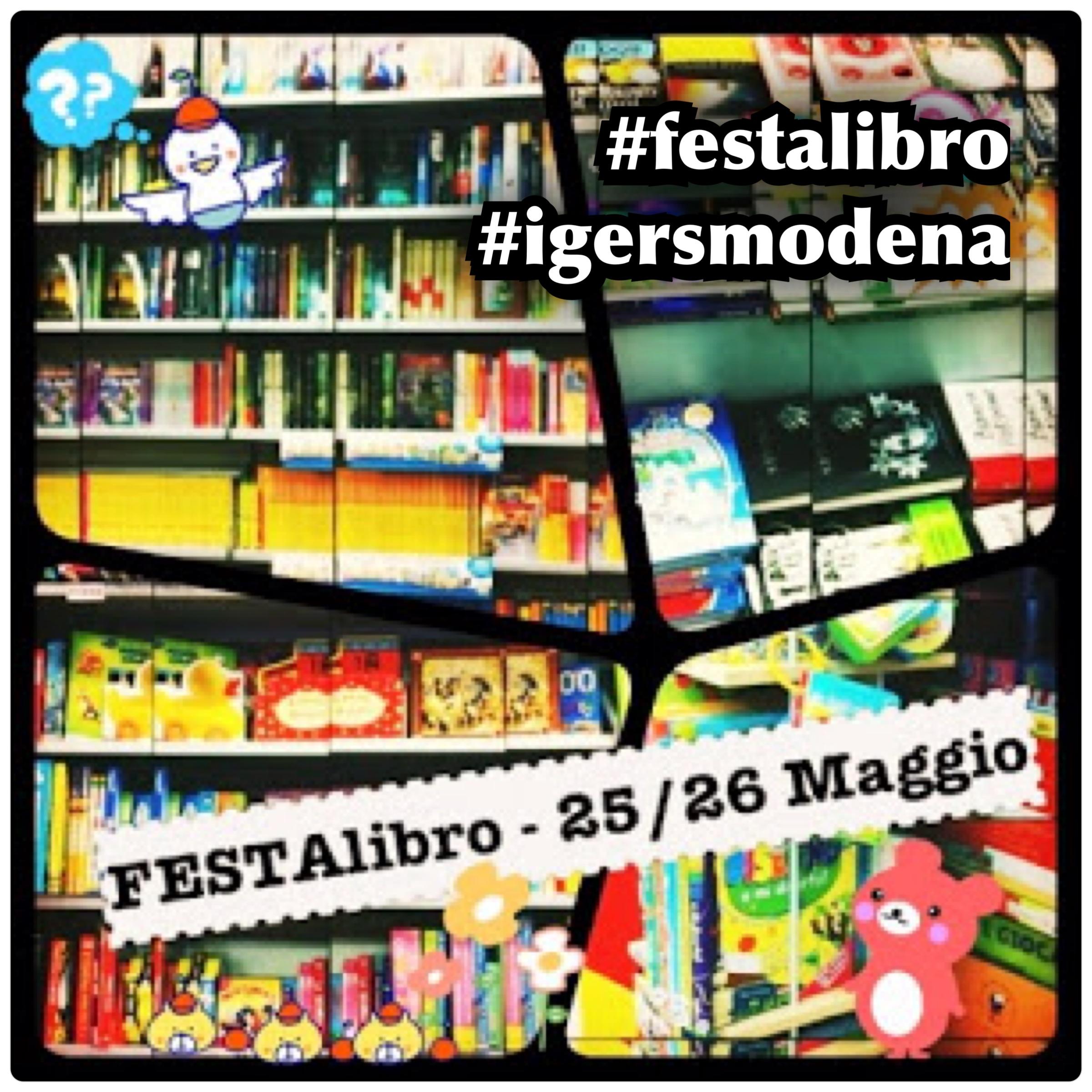 Mettetevi in mostra a Festalibro con IgersModena