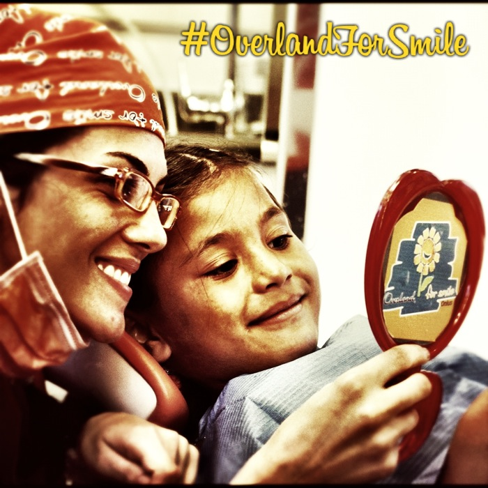 L'emozione di un sorriso per Overland for Smile