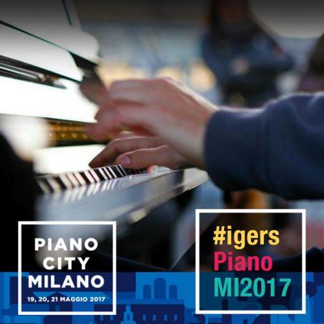 Igersmilano e Piano City insieme per 3 giorni di musica