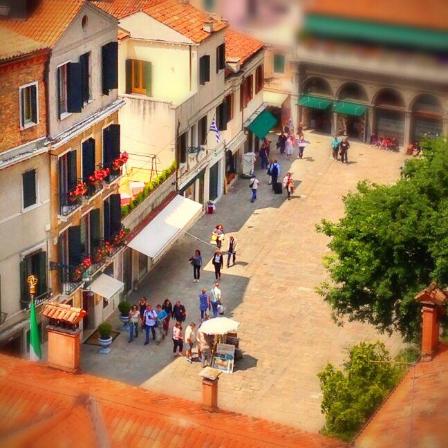 Piazze d'Italia in Tilt-shift