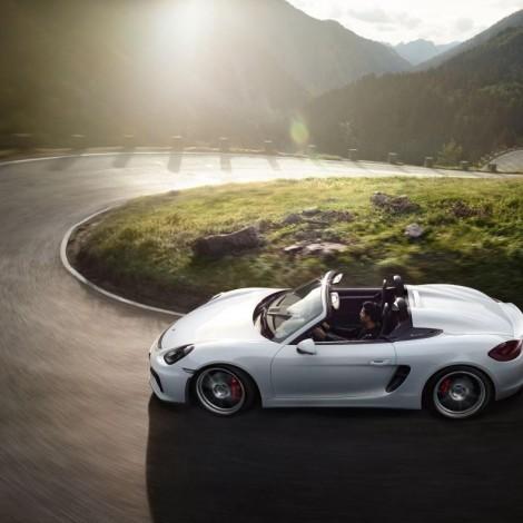 Porsche Boxster Spyder: su Instagram il video di lancio