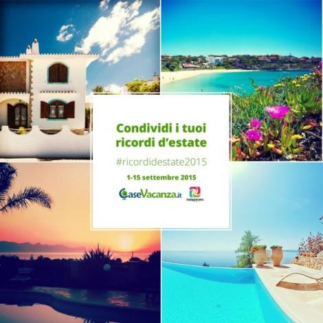 Le nostre vacanze su Instagram con #RicordidEstate2015