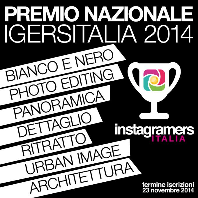 Premio Nazionale Instagramers Italia 2014