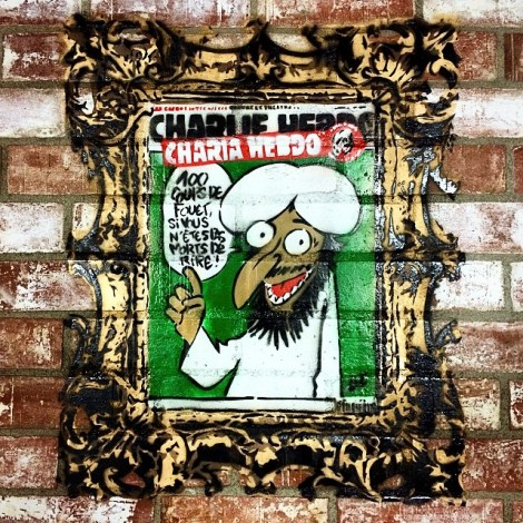 Streetart dal mondo: i giorni di Charlie Hebdo