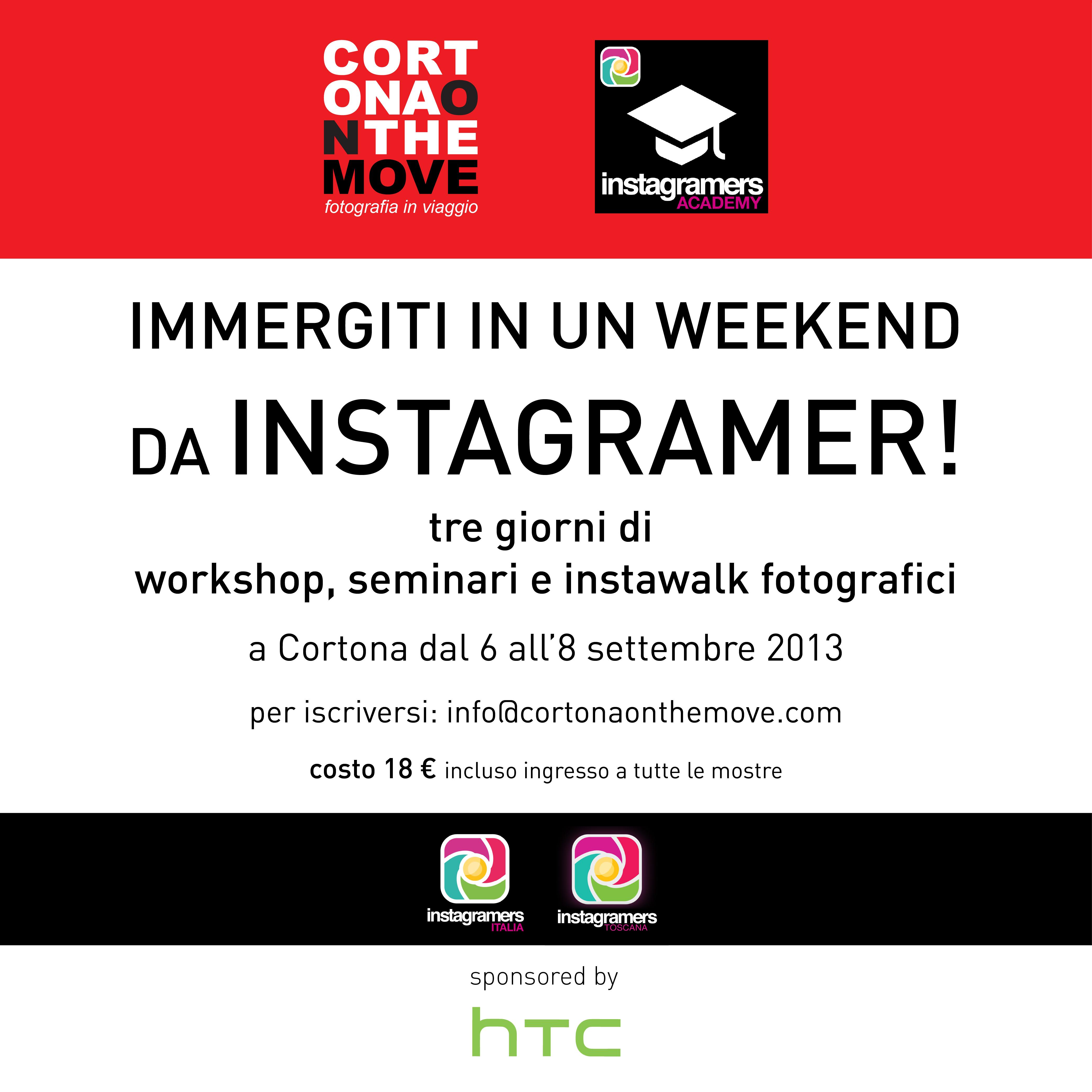 Vivi un weekend da Instagramer a Cortona il 6, 7 e 8 settembre