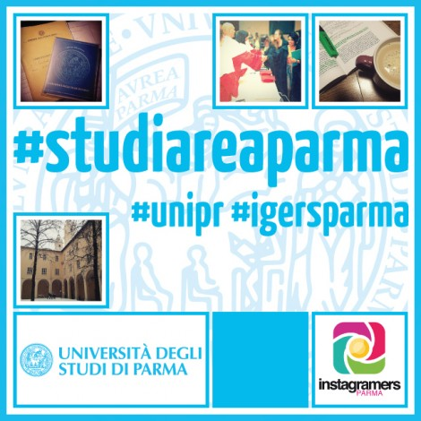 La vita universitaria di Parma su instagram
