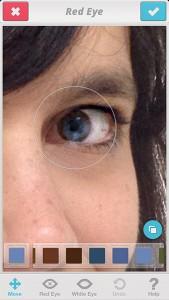 Facetune - Red Eye