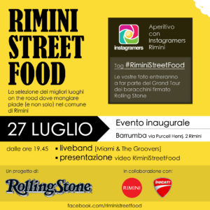 Rimistreetfood per scoprire dove mangiare on the road