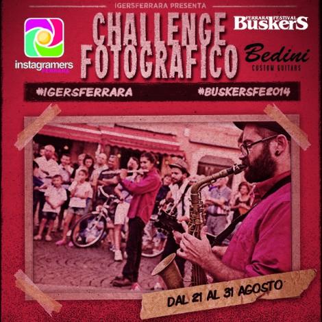Buskers Ferrara su Instagram con challenge e flashmob