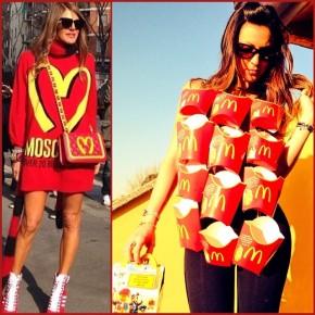 @therottensalad McDonald's dress