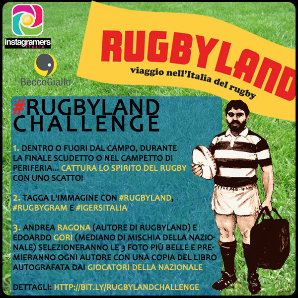 Instagram incontra il rugby con Rugbyland
