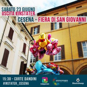 Nuova uscita a Cesena con TER e gli Instagramers