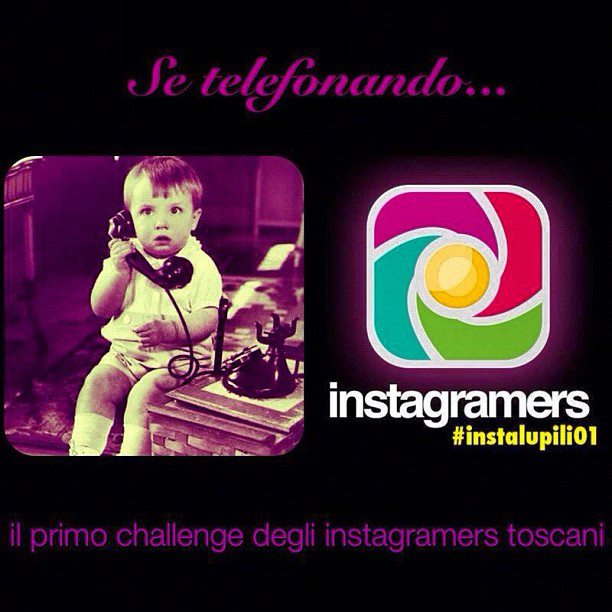 Primo Instagram challenge toscano