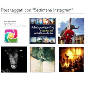 Una settimana di Instagram, la rubrica del weekend di Instagramers Italia