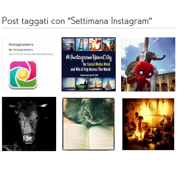 A week of Instagram: una settimana con Instagramers Italia episodio #06