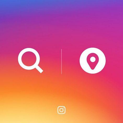 La ricerca delle Stories per hashtag e per località e la sezione Archivio delle foto