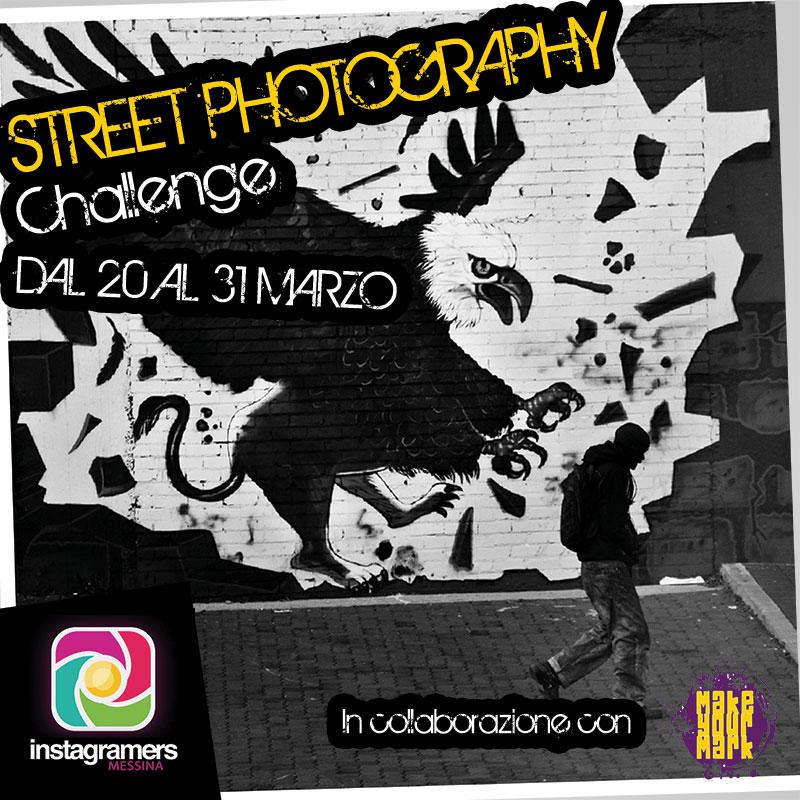 StreetPhoto: challenge con IgersMessina e Make Your Mark