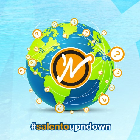 SalentoUpNdown: su e giù per il Salento (e il mondo) a bordo di un hashtag