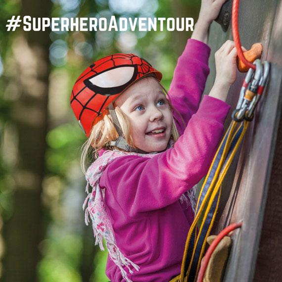 #superheroadventour 2018 - instafamily al Parco Avventura con PinAndGo