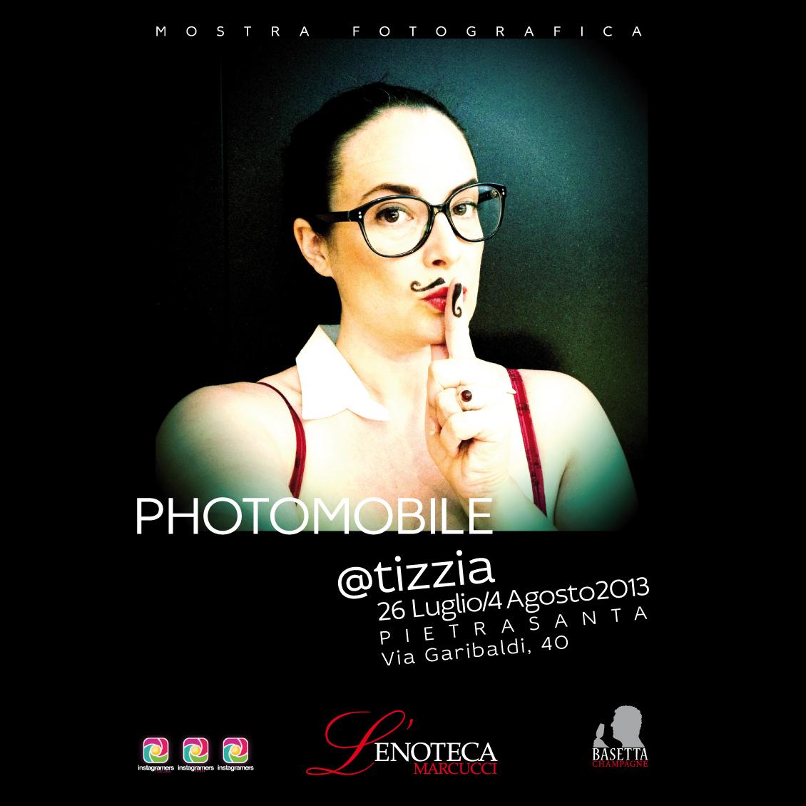 Mostra di photomobile con @tizzia e challenge con Paul Smith
