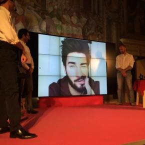 La premiazione di Giulio Tolli