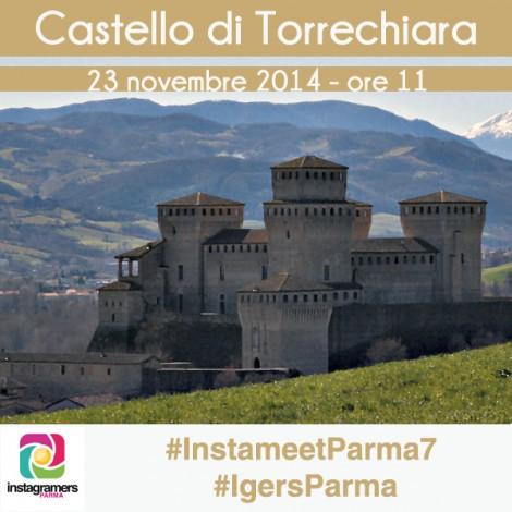 Un anno dopo: con @Igersparma al castello di Torrechiara