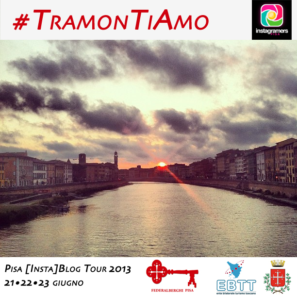 #TramonTiAmo: Challenge e Primo InstaWalk con IgersPisa