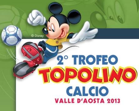 Il Trofeo Topolino va in goal su Instagram con #TOPOLINOCALCIOAOSTA