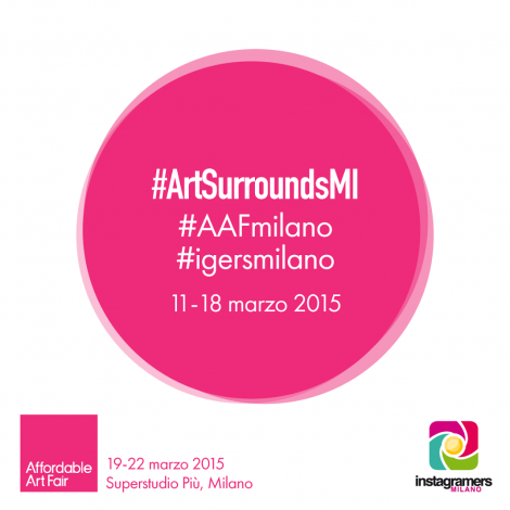 Igersmilano partner di Affordable Art Fair con ArtSurroundsMI