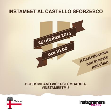 Milano. Il Castello Sforzesco svela i suoi segreti agli Instagramers