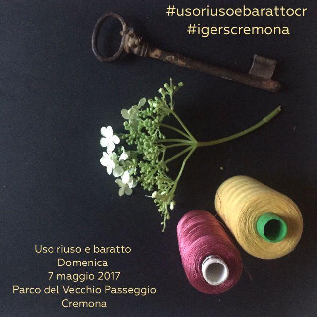 """Challenge di primavera con """"Uso riuso e baratto"""" per Igers Cremona"""