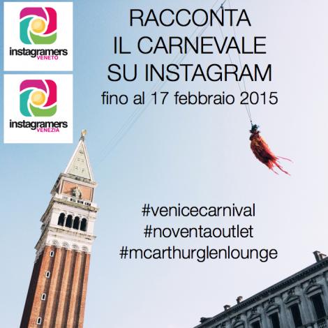 Il Carnevale di Venezia visto dagli Instagramers