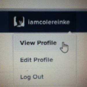 Opzione View Profile per Instagram via web