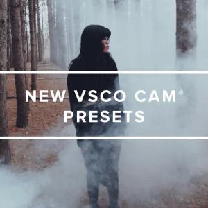 VSCO Cam nuovi preset