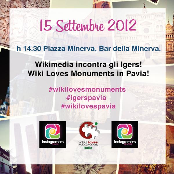 Wikipedia e gli Instagramers alla scoperta di Pavia