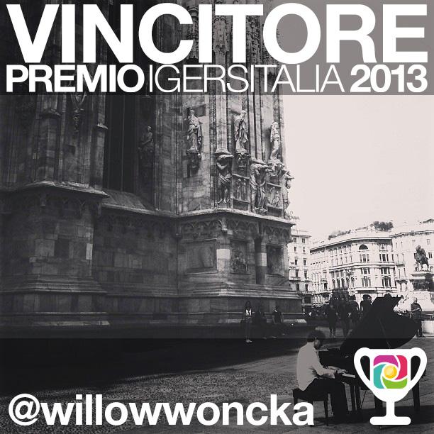 Premio Instagramers italia 2013, tutte le foto premiate e il vincitore.