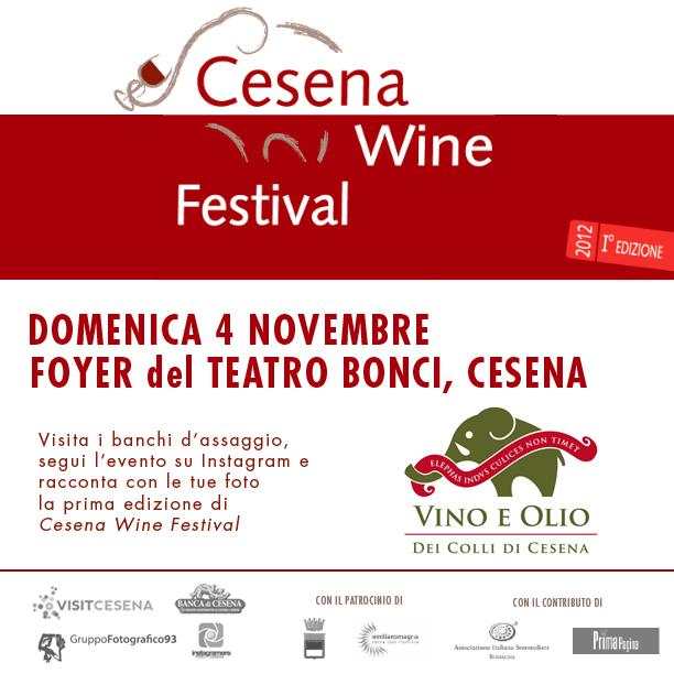 InstaReporter per un giorno al Cesena Wine Festival