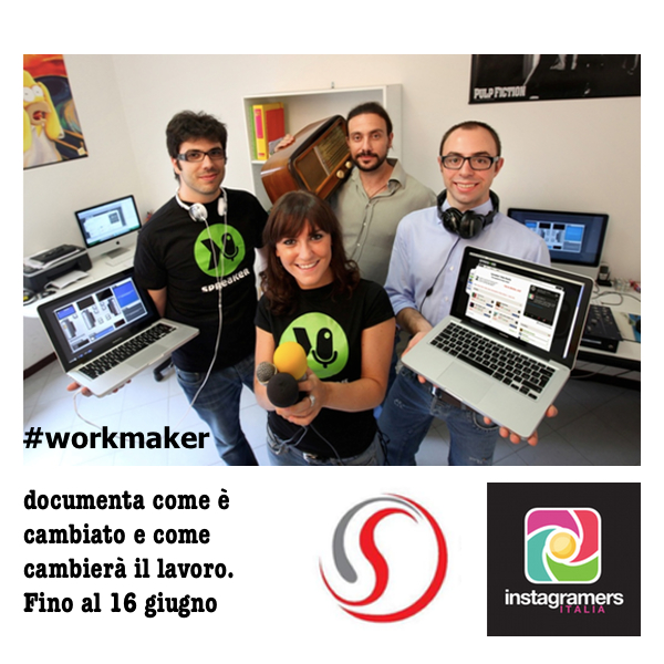 #WorkMaker: il challenge che documenta l'Italia al lavoro