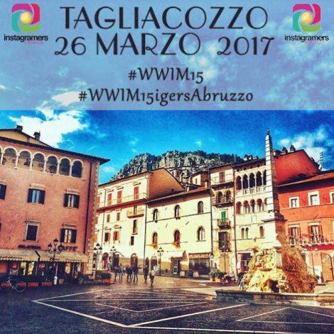 WWIM15 a Tagliacozzo con IgersAbruzzo