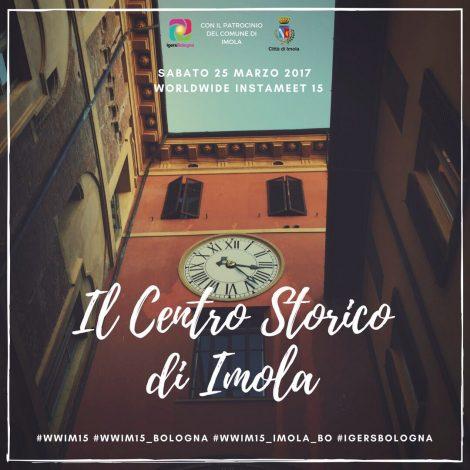 Visita al centro storico di Imola per il WWIM15 di IgersBologna